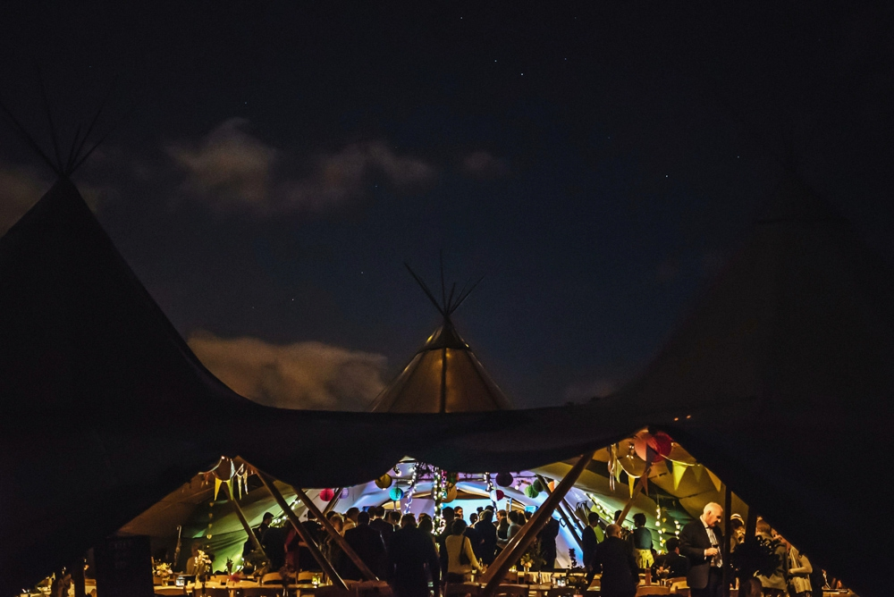 PapaKåta Teepee Wedding